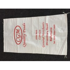 Misprinted Polyprop Sacks